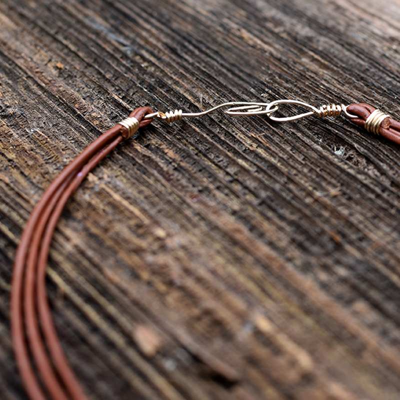 Hammered Wire Clasp