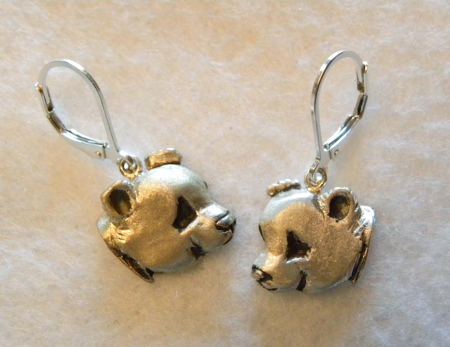 Giant Panda Earrings