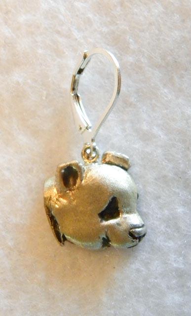 Giant Panda Earrings