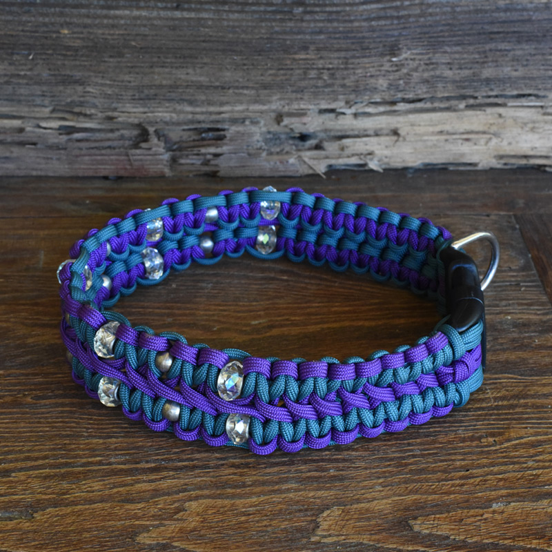 Beaded King Cobra Dog Collar