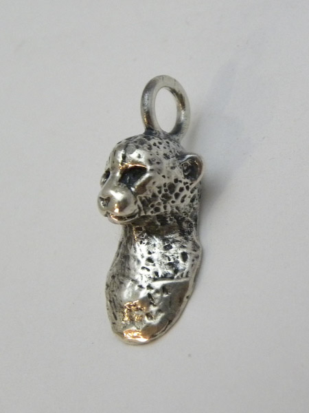 Michele's Wearable Art - Cheetah Pendant