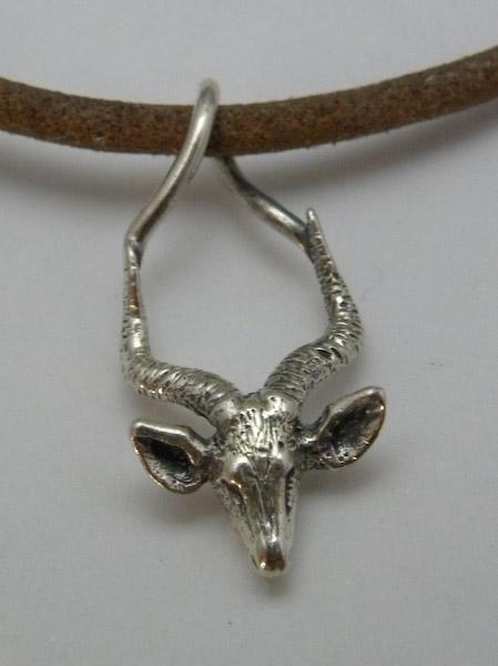 Michele's Wearable Art - Impala Pendant