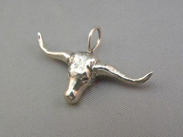 Michele's Wearable Art - Longhorn Pendant