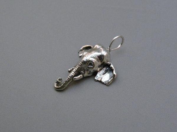 Michele's Wearable Art - Asian Elephant Small Pendant
