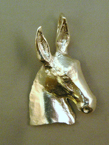 Michele's Wearable Art - Mule Pendant