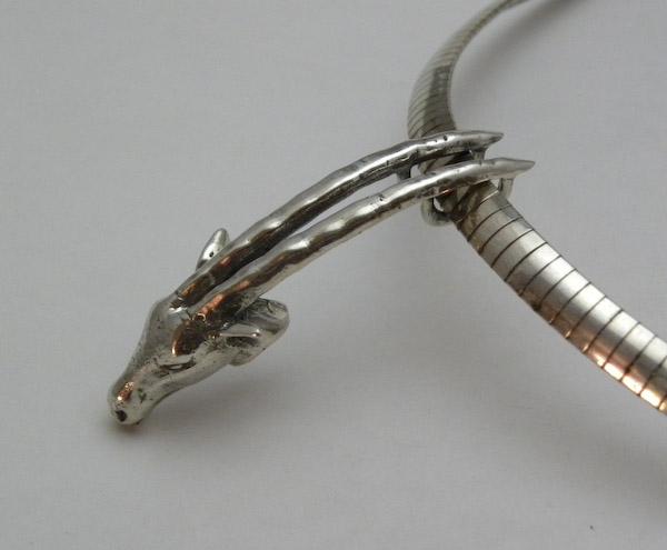Michele's Wearable Art - Oryx Pendant