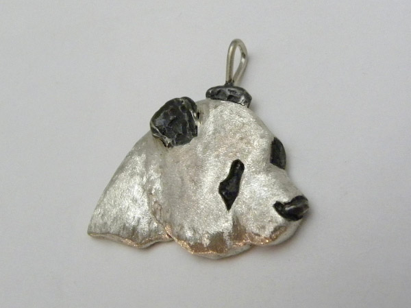 Michele's Wearable Art - Giant Panda Pendant