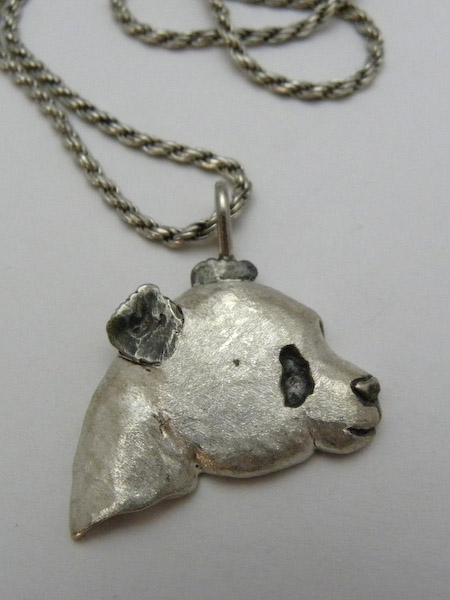 Michele's Wearable Art - Medium Panda Pendant