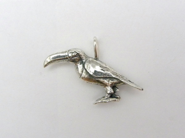 Michele's Wearable Art - Toco Toucan Pendant