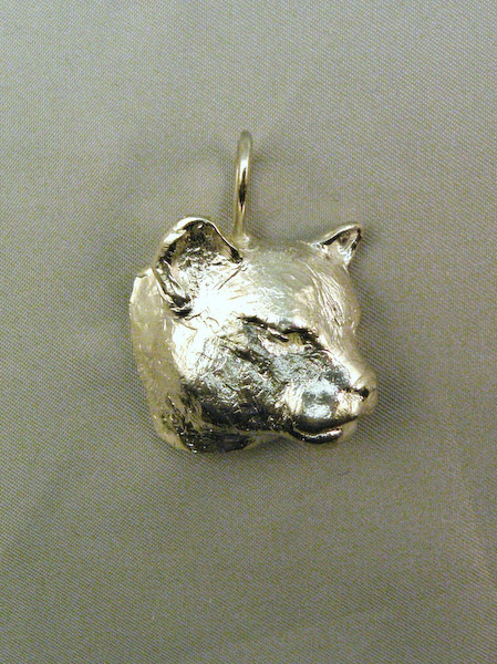 Michele's Wearable Art - Cougar Pendant