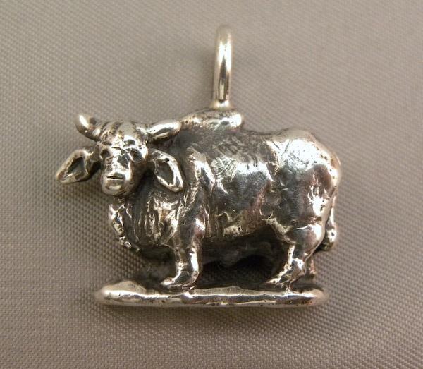 Michele's Wearable Art - Brahman Bull Pendant