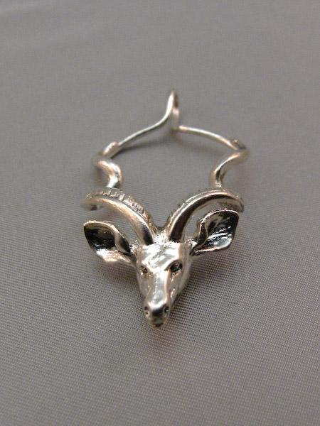 Michele's Wearable Art - Kudu Pendant